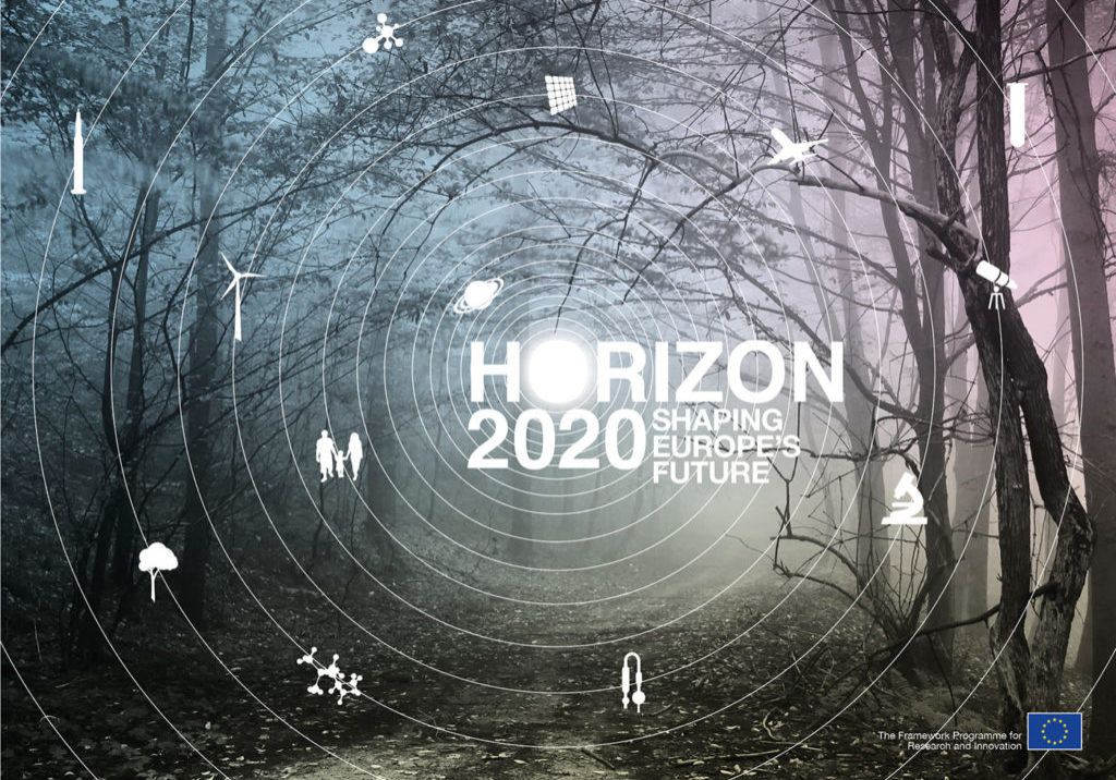 """Horizon 2020 Corporate Identity & Visual Campaign"" by Marc Thomasset  Licensed under CC BY-NC-ND 4.0"